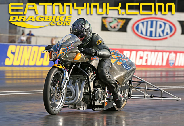 Can anybody drop the hammer on multi-time Top Gas champ Greg Mallet?